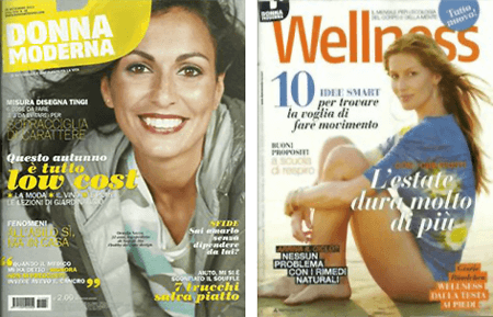 copertina wellness donna moderna settembre 2013