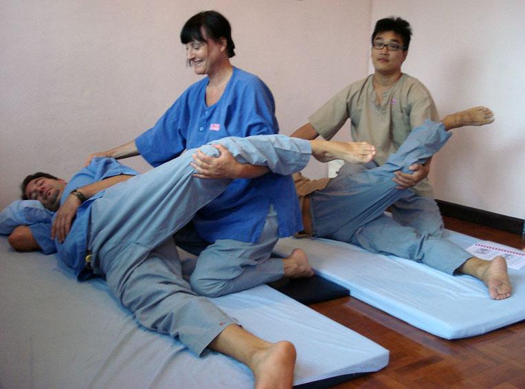 insegnante massaggio thailandese