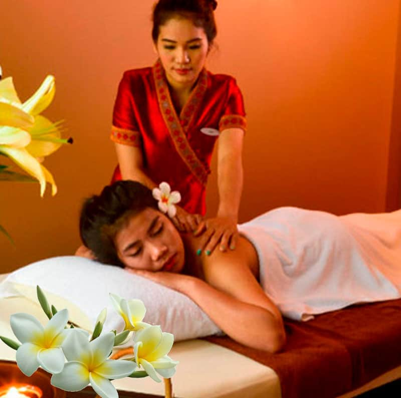 sedia egonomica per svolgere il thai chair massage